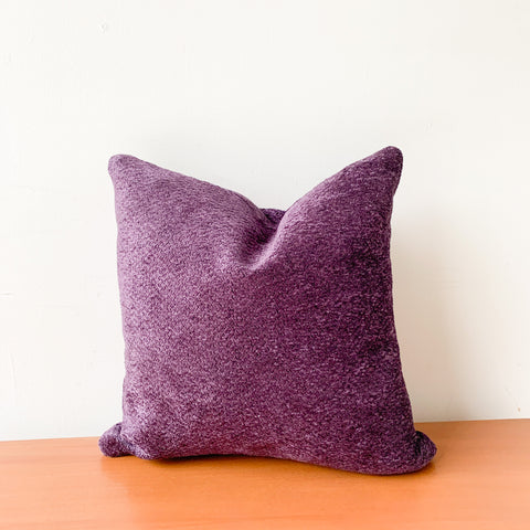Purple Velvet Pillow