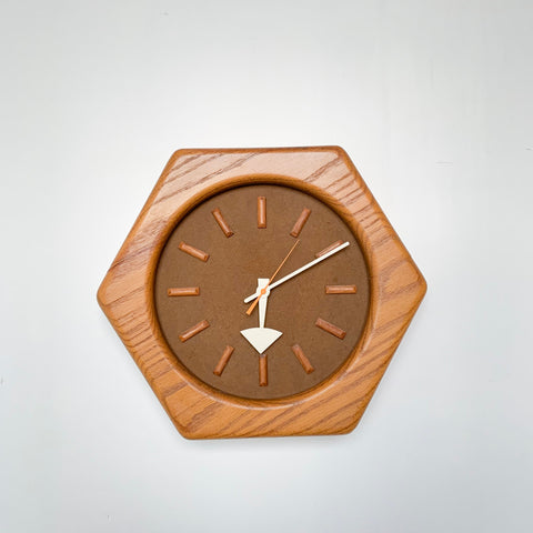 Howard Miller Hexagon Clock