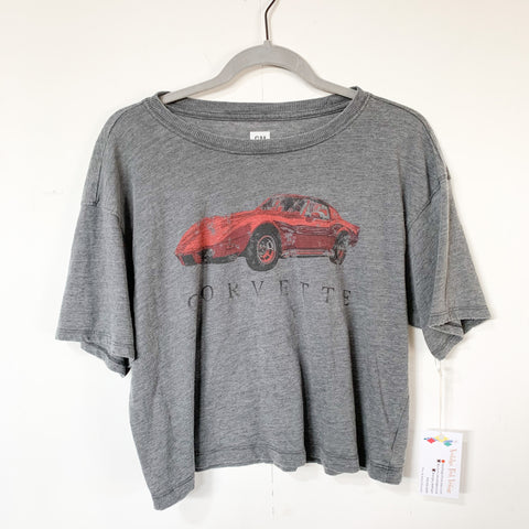 GM Corvette Crop Tee