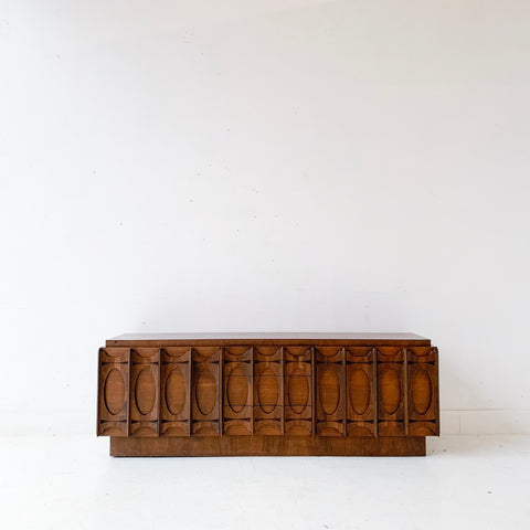 Mid Century Modern Canadian Brutalist Sideboard