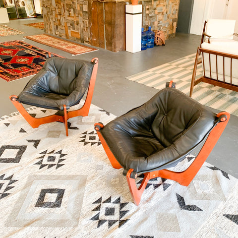 "Pair of ""Luna"" Lounge Chairs"