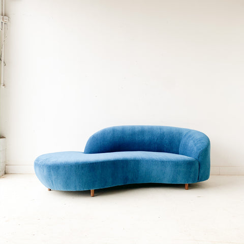 "Vintage ""Cloud"" Style Sofa with New Upholstery"