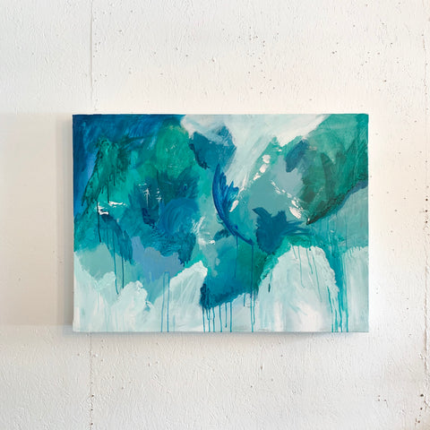 Blue/Green Abstract Painting