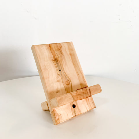 Cell Phone Dock - Spalted Maple