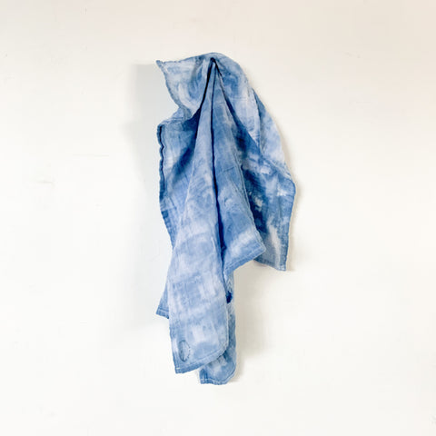 Hand Dyed Cotton Gauze Bandana 22x22 - 04
