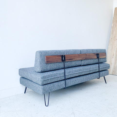 Mid Century Daybed/Sofa with New Upholstery