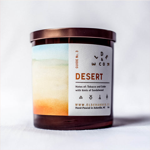 Desert Candle - Elder & Co