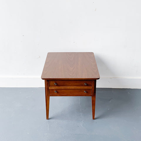 Mid Century End Table by Lane
