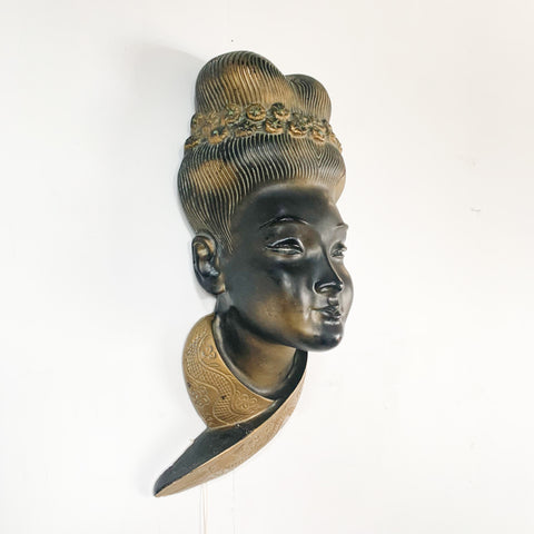 Asian Chalk Ware Woman