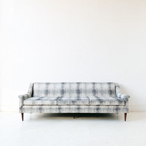 Mid Century Modern Sofa with New Upholstery by Flexsteel