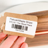 Paduak/Maple Stripe