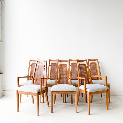 Set of 7 Drexel Dining Chairs
