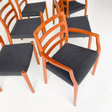 Set of 6 Niels Moller Dining Chairs