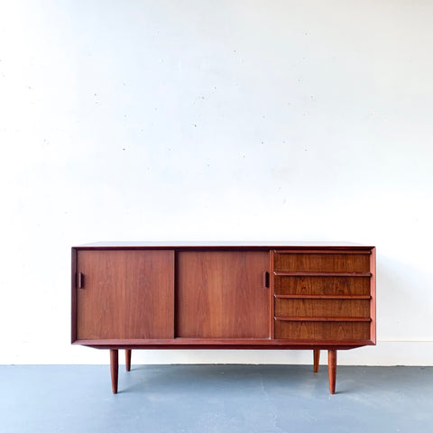 Danish Teak Sideboard/Buffet by Falster
