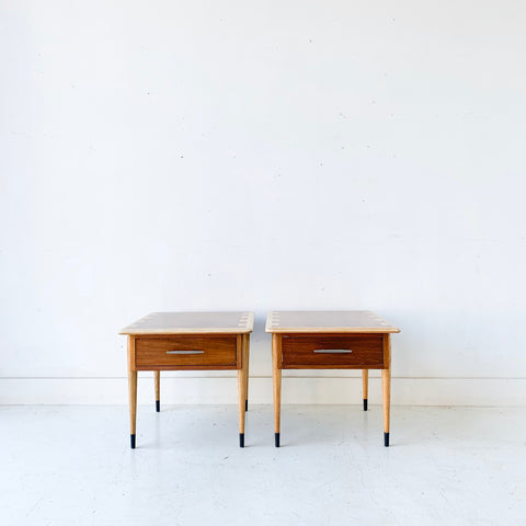 Pair of Mid Century Modern Lane Acclaim End Tables