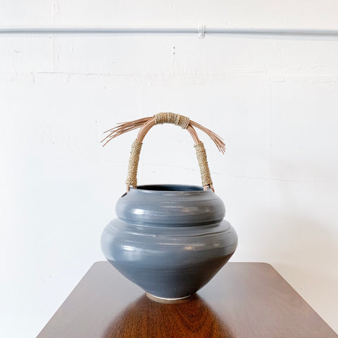 """Beehive Basket"" by Motyl Pottery"