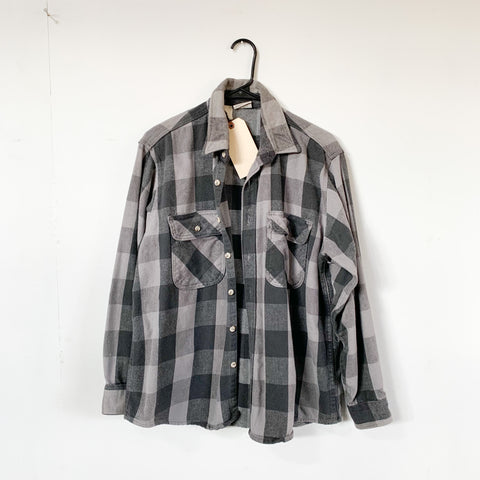 Vintage Five Brothers Plaid Flannel