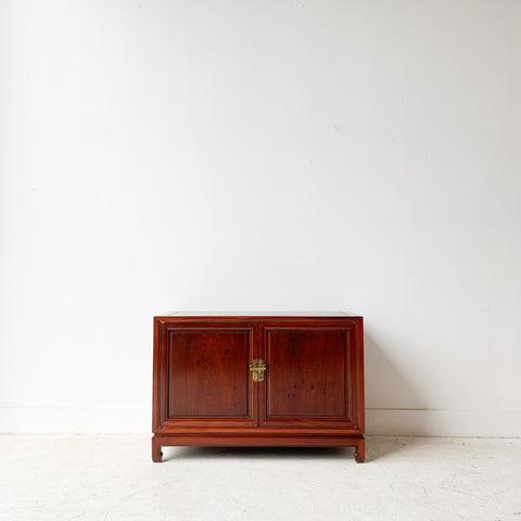 Mid Century Modern Asian Influenced Cabinet - A