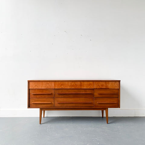 MId Century Modern Low Dresser by Dixie