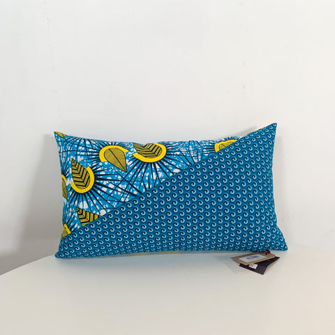 R3 African Fabric Throw Pillow