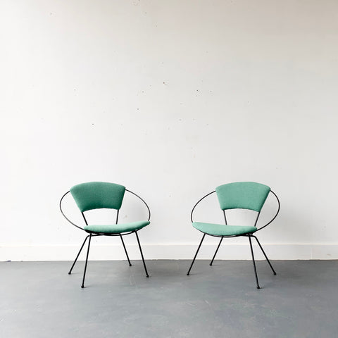 Pair of Raymond Loewy Hoop Chairs