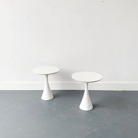 Pair of Mid Century Tulip Tables