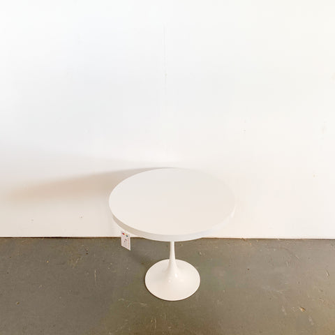 MCM Tulip Side Table w/ Metal base