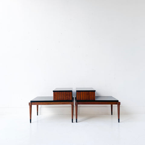 Pair of Mid Century Modern Lane End Tables