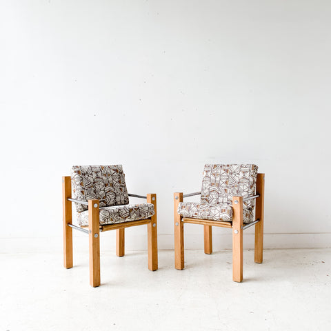 Pair of Vintage Sling Chairs