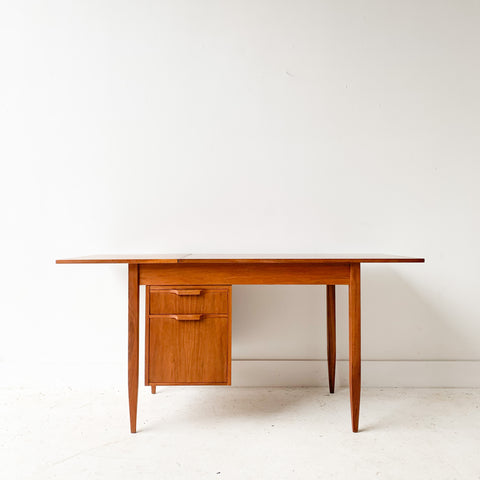 Mid Century Sliding Top Desk by Moreddi