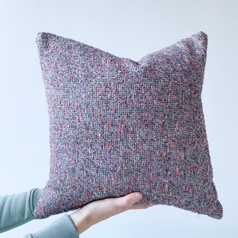 Purple/Grey Pillow