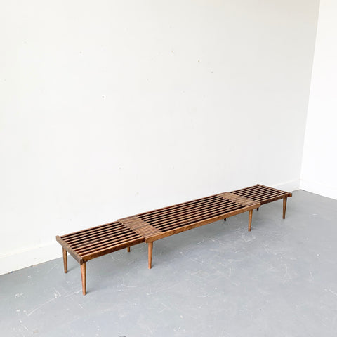 John Keal for Brown Saltman Expandable Slat Bench