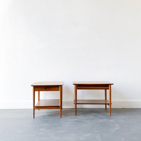 Pair of End Tables by Henredon