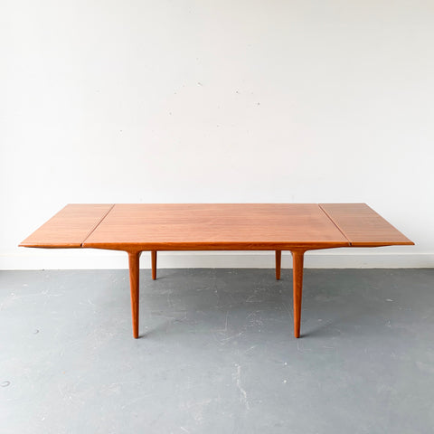 Danish Teak Dining Table by J.L. Moller