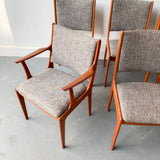 Set of 6 Johannes Andersen Teak Dining Chairs