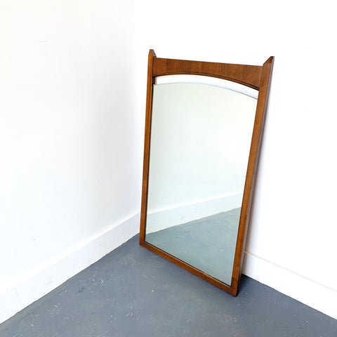 Mid Century Walnut Mirror