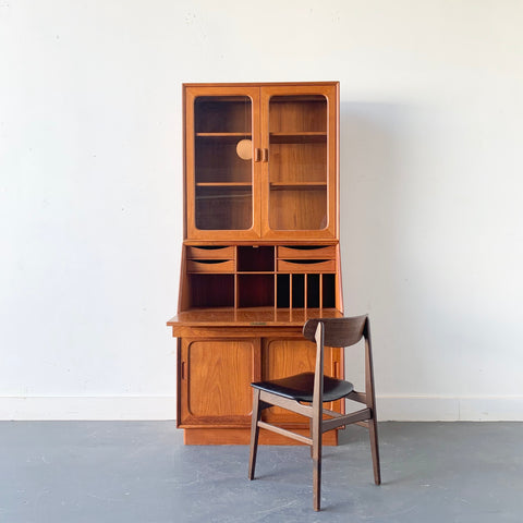 Bernhard Pedersen and Son Secretary Desk/Wall Unit