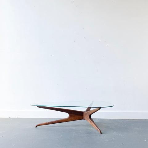 Vladimir Kagan Attributed Coffee Table