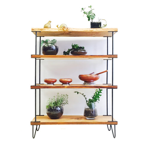 Atomic Industrial Rustic Shelving Unit
