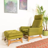 Kroehler Lounge Chair and Ottoman