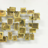 Metal Art - Brass Rectangles