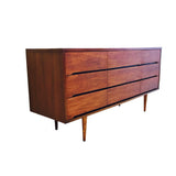 Cherry Nine Drawer Dresser