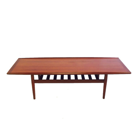 Danish Teak Coffee & End Table Set