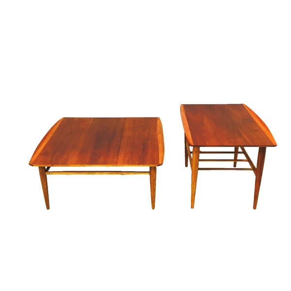 Teak Coffee Table And End Tables