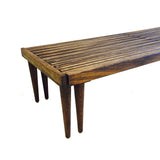Expandable Slat Bench