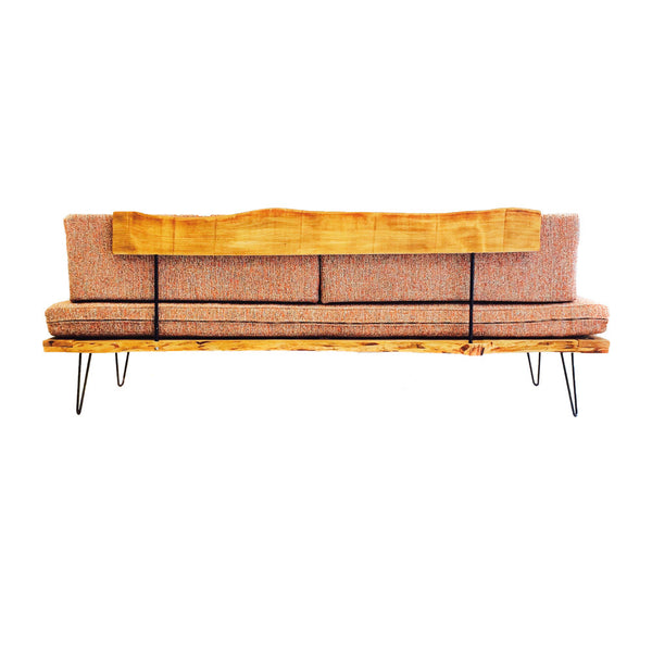 live edge hemlock platform sofa atomic furnishing design. Black Bedroom Furniture Sets. Home Design Ideas