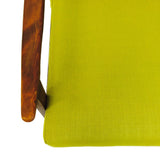 Italian Chartreuse Lounge Chair