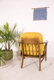 Mid Century Short Back Lounge Chair