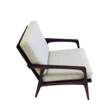 Mid Century Sculpted Lounge Chair