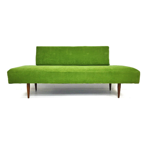 Moss Green Sofa/Daybed